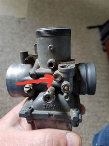 Old Polaris 250 2 Stroke Carb Missing The Oil Intake