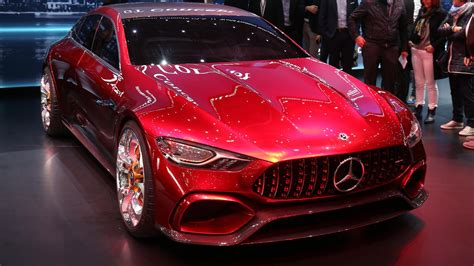 Mercedes Amg Gt Concept Is The Hybrid Sports Car For The