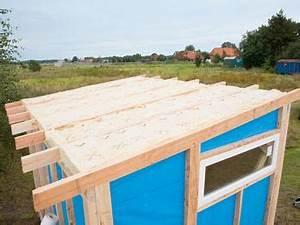 Dach Für Gartenhaus : gartenhaus selber bauen bauabschnitt 3 das dach der ~ Michelbontemps.com Haus und Dekorationen