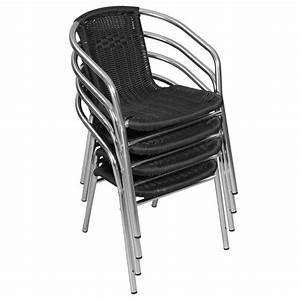 Fauteuil Jardin Pas Cher : achat chaises terrasse restaurant pas cher mobeventpro ~ Teatrodelosmanantiales.com Idées de Décoration