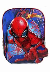 Spiderman Blue Kids Backpack  Spiderman