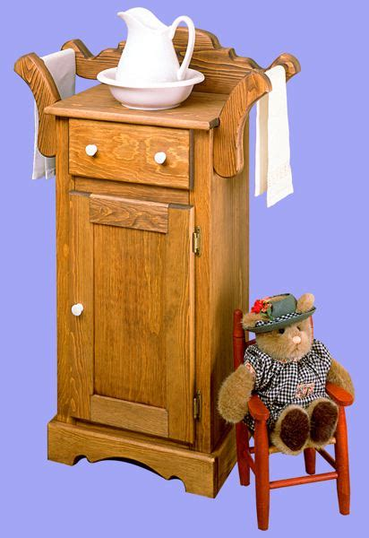 antique washstand vintage woodworking plan