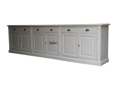 peinture cuisine gris clair grand buffet bois massif 6 portes 6 tiroirs