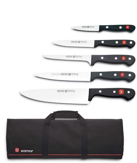 trousse de couteaux de cuisine mallette wusthof 5 couteaux de cuisine gourmet