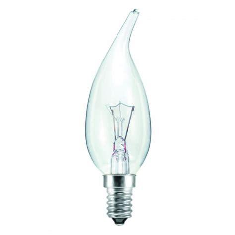 candle light bulbs 15 watt ses e14mm clear tip decorative candle light bulb