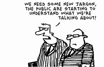 Jargon Cartoon Snippets Changing Words