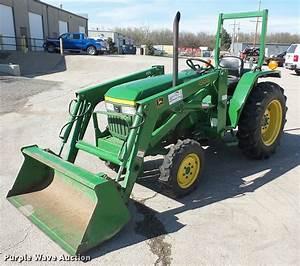 1995 John Deere 870 Mfwd Tractor