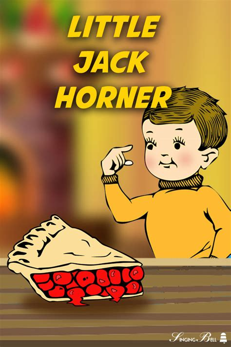 jack horner  nursery rhyme