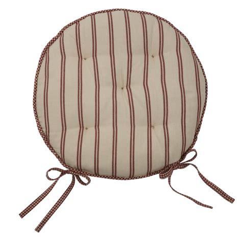 galette de chaise ronde