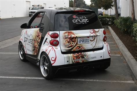 Custom Designed Smart Car Wrap by Iconography