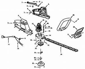 Craftsman Hedge Trimmer Parts