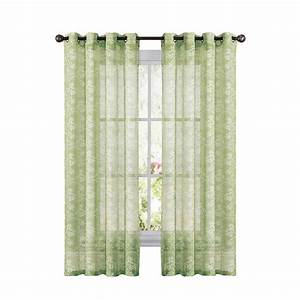 Sheer grommet curtains on shoppinder for Grommet curtains with sheers