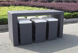 Rattan Bar Set : homeofficedecoration outdoor rattan bar sets ~ Indierocktalk.com Haus und Dekorationen