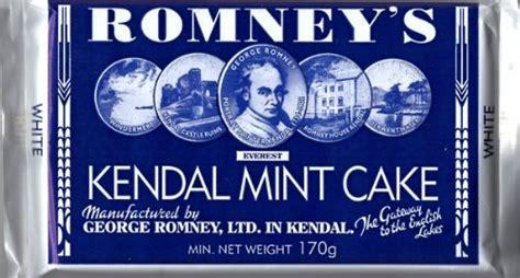 romneys  kendal kendal mint cake white bar large