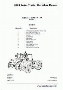 Massey Ferguson Tractors 3300 Series Workshop Manual