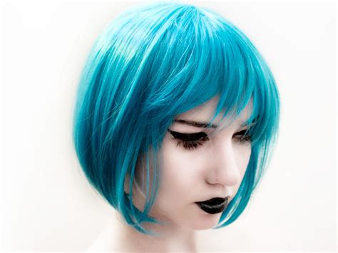 electric soft blue funky hairstylee sophie hairstyles