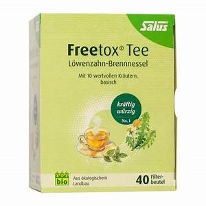 Detox Tee Abnehmen : salus bio detox tee nr 1 bei nu3 bestellen ~ Udekor.club Haus und Dekorationen