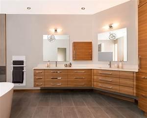 Salle De Bain Contemporaine : awesome salle bain contemporaine pictures ~ Dailycaller-alerts.com Idées de Décoration