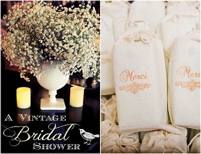 Bridal Shower Inspired Theme Rustic Chic Showers