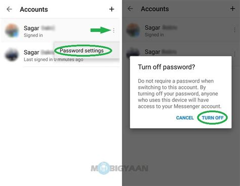 how to fb account with android phone how to add accounts in messenger on