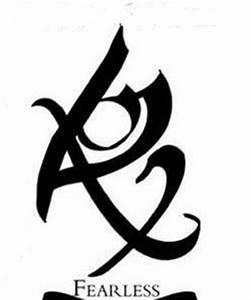 "Fearless Rune ""The Mortal Instruments""   tattoos   Pinterest"
