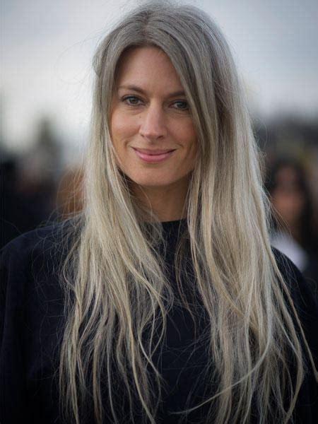 graue haare frisuren vorschläge graue haare der silberne trend