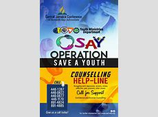 OSAY Helpline Central Jamaica Conference of Seventhday