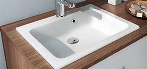 Vasque à Encastrer : vasque encastrer en polyb ton vasque encastrer en ~ Edinachiropracticcenter.com Idées de Décoration