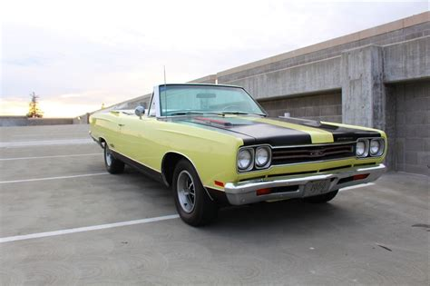 Convertible For Sale by 1969 Plymouth Gtx Convertible For Sale