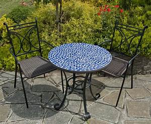 Europa natural stone garden furniture marble mosaic for Mosaic garden table