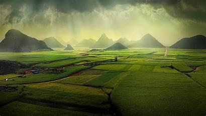 Windows Spotlight Luoping China Fields Canola Background