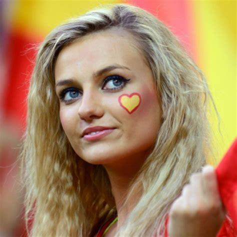 world cup hot spanish girl  beautiful