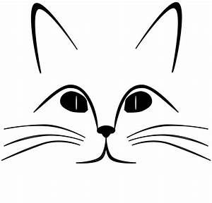 Cat face clip art - Clipartix