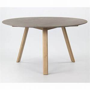 Esstisch Rund Grau : tisch rund beton optik esstisch rund grau durchmesser 140 cm ~ Eleganceandgraceweddings.com Haus und Dekorationen
