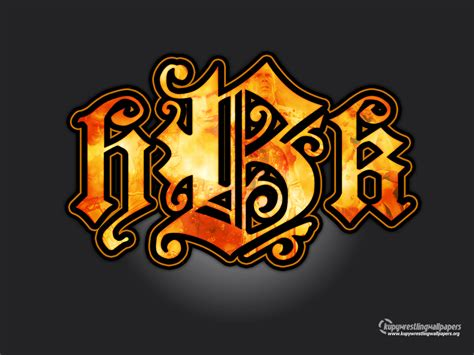 Wwe Wallpaper Of John Cena Hbk Logo Shawn Michaels Wallpaper 808954 Fanpop
