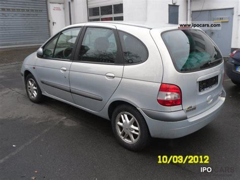 renault scenic 2002 specifications 2002 renault scenic i 1 6 16v emotion auto car photo and