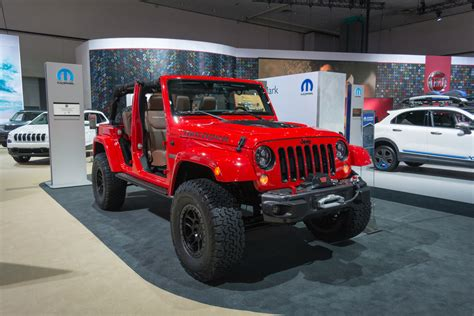 Jeep Unveils Limited Wrangler Red Rock At Sema 2015