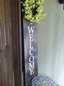 vertical welcome sign welcome sign by