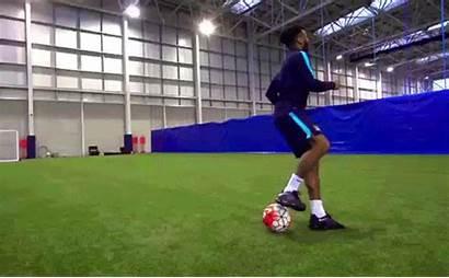 Dude Perfect Sterling Raheem Gifs Soccer Running