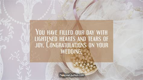 filled  day  lightened hearts  tears