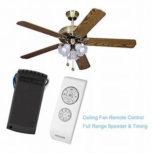 Pecham fan lamp wireless remote control ceiling and