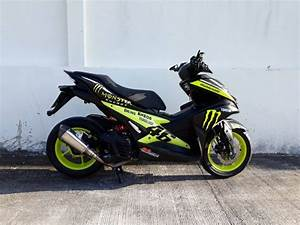 Aftermarket Exhaust System Yamaha Aerox 155 500 Baht Only