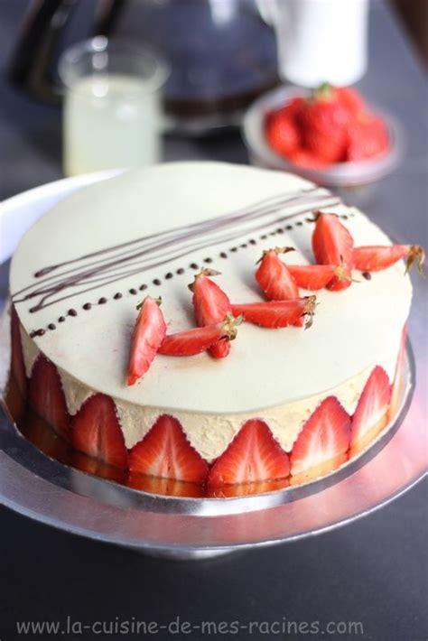 patisserie avec pate d amande je vous propose la recette fraisier gateau facile un classique de la patisserie fran 231 aise tr 232 s