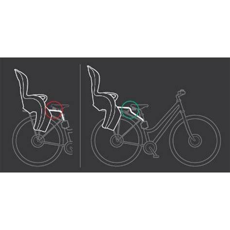 fixation siege velo hamax hamax 603078 rehausseur pour siege vélo et sleppy