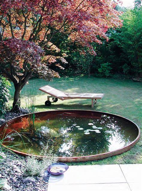 Wasser Im Garten Bilder by Wasser Im Garten Biotope Metallbecken