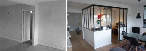 aménagement bureau à domicile avant après aménagement d 39 un appartement avec un coin