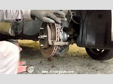 Nissan Almera Front Brake Pads Replacement YouTube