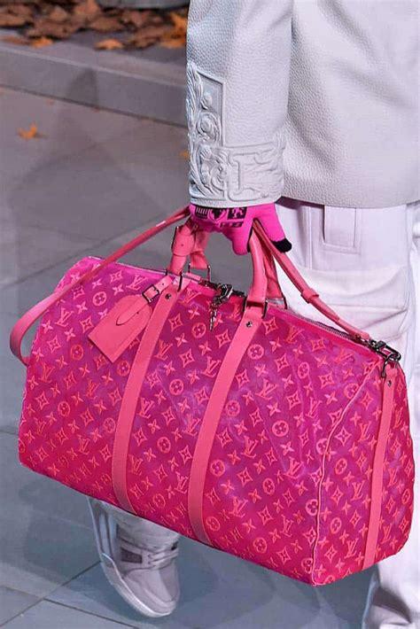louis vuitton mens fallwinter  runway bag collection