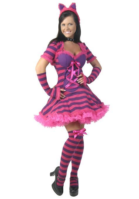 Sexy Cheshire Cat Costume  Women's Sexy Alice In
