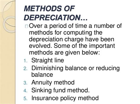 auditing depreciation for b com